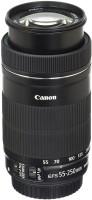 Canon EF-S 55-250mm F4-5.6 IS STM Lens for SLR Cameras  Lens(Black, 55-250)