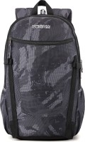 American Tourister Pulse Sch Bag 27.5 L Backpack(Black, Grey)