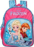 Disney Frozen Sister Rules (Pink and Blue) 12' ' School Bag(Pink, Blue, 10 L)