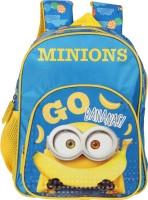 Despicable Me Minions Go Banana Blue 12 inch School Bag(Blue, 10 L)
