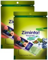 Ziminta Mouth Freshener Orally Disintegrating Strips ( Sugar Free ) - 30 Strips (Pan Masala Flavour) - Pack Of 2 Strip(30 g) - Price 139 44 % Off