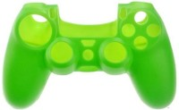 Microware Sleeve for PS4 Controller(Green, Rubber)