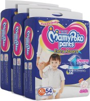 MamyPoko Pants Extra Absorb Diapers - XL(162 Pieces)