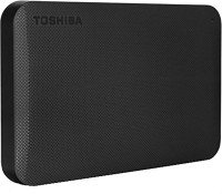 Toshiba 1 TB Wired External Hard Disk Drive(Matte Black)