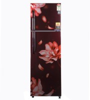 Haier 278 L Frost Free Double Door Top Mount 4 Star Refrigerator(Red, HRF-2984PRJ-E)