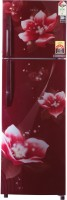 Haier 278 L Frost Free Double Door Top Mount 3 Star Refrigerator(Red, HRF-2983CRM-E)