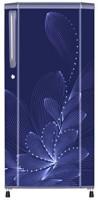 Haier 195 L Direct Cool Single Door 3 Star Refrigerator(Blue Ornate, HRD-1953BBO-R)
