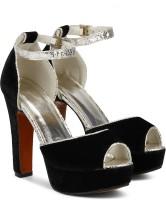 SHOE COUTURE Women Black Heels