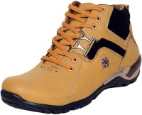 CoolSwagg For Men And Boys Mid Ankle Length Boots For Men(Multicolor)