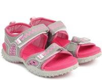 Footfun by Liberty Boys & Girls Velcro Sports Sandals(Multicolor)