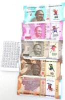 Aparnas Dummy currency coupans for Playing monopoly , business game and other board games for kids and all . ( 5 different variety of 10 each ) Playing Dummy Coupons notes For FUN TIME(Multicolor)