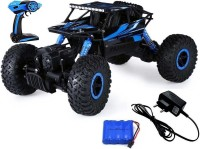 Bonkerz Chargeable Rock Crawler 1:16 Scale 4WD 2.4 Ghz 4x4 Rally Racing Remote Control Car For Kids(multi)
