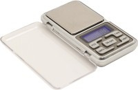 Metroz Electronic Digital Professional Pocket Scale for upto 500 Grams Weighing Scale(Grey)
