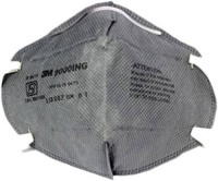 3M Pack Of 1 9001ING Anti pollution Grey Mask and Respirator - Price 140 30 % Off