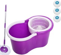 V-Mop Easy Cleaning Floor mop-a21 Wet & Dry Mop(Multicolor)