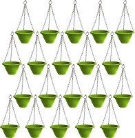 NIBBO Nibbo 3130 Plant Container Set(Pack of 20, Plastic)