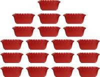 SHOPTICO o 2135 Plant Container Set(Pack of 19, Plastic)