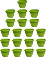 SHOPTICO o 2137 Plant Container Set(Pack of 19, Plastic)