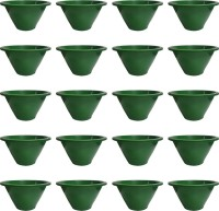 NIBBO Nibbo 3124 Plant Container Set(Pack of 20, Plastic)