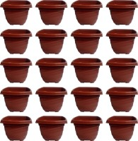 NIBBO Nibbo 3122 Plant Container Set(Pack of 20, Plastic)
