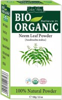 Indus Valley Pure Natural Bio Organic Neem Powder 100g(100 g) - Price 134 32 % Off