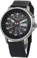 LAD WEATHER Black24003 [LAD WEATHER] Solar powered Automatic time correction Radio wave Perpetual calender Watch for Men Analog Watch  - For Men & Women