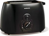 Sabichi 2 Slice Black Toaster 240 W Pop Up Toaster(Black)