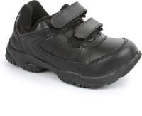 Force 10 Boys & Girls Velcro Walking Shoes(Black)