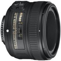 Nikon AF-S NIKKOR 50mm f/1.8G Lens  Lens(Black, 55)