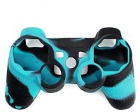 Microware Sleeve for PS3 Controller Sleeve(Blue, Black, Flexible Case)