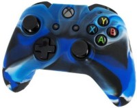 Microware Sleeve for Xbox One Controller S(Blue, Black, Rubber)