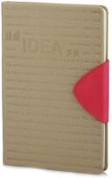 Doodle A5 Notebook(Motivation Idea Achievement, Beige)
