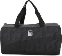 Puma SoleBarrelBag Travel Duffel Bag(Black, Grey)