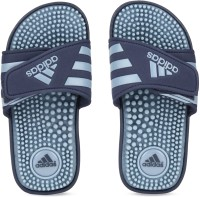 ADIDAS Boys & Girls Velcro Slipper Flip Flop(Blue)