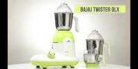 Bajaj TWISTER DLX 750 Mixer Grinder(Multicolor, 3 Jars)