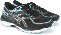 Asics GEL-CUMULUS 19 Running Shoes For Women(Black, Blue)