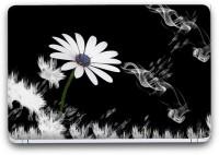Flipkart SmartBuy White Flower 2 Vinyl Laptop Skin (3M/Avery Vinyl, Matte Laminated, 15 x 10 inches) Vinyl Laptop Decal 15.6