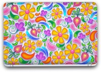 Flipkart SmartBuy Floral Abstract 2 Vinyl Laptop Skin (3M/Avery Vinyl, Matte Laminated, 15 x 10 inches) Vinyl Laptop Decal 15.6