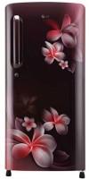 LG 190 L Direct Cool Single Door 5 Star Refrigerator(Scarlet Plumeria, GL-B201ASPY)
