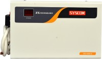 Syscom 4KVA Double Booster Stabilizer for AC (Pick up Voltage from 160v)(white)