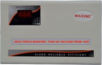 Maxine 4KTB AC Stabilizer (4kva Triple Booster Pick up Voltage from 130V)(White)