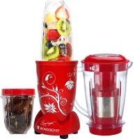 Wonderchef Nutri-Blend with Juicer Attachment 400 Juicer Mixer Grinder(Red, 3 Jars)
