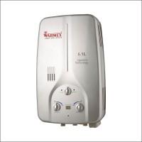 Warmex 6.5 L Gas Water Geyser(Silver, Gas Water Heater GWH 09 (Silver))