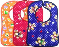 Wonder Star Premium quality Bibs/ Apron/ Smock Combo(Pack of 3)(Multcolor)