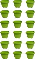 GJTL Plant Container Set(Pack of 18, Plastic)