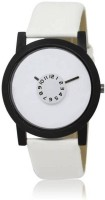 Newman Stylish For Men White Face Watch  - For Boys