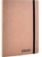 SKOODLE Regular Notebook(Elastic, PKT, Kraft, Tan)