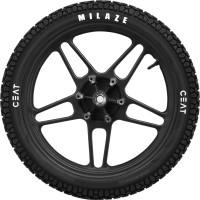 CEAT 103272 MILAZE 90/100-10 Front & Rear Tyre(Street, Tube)