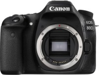 Canon EOS 80D(W) DSLR Camera (Body Only) (16 GB SD Card)(Black)