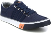 Sparx Sporty Canvas Shoes For Men(Navy)